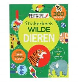 Sticker- & Activiteitenboek Wilde Dieren
