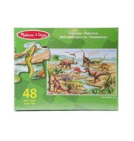 Melissa & Doug Dinosaurus vloerpuzzel (48 st)