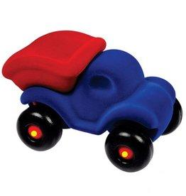 Rubbabu Rubbabu - Cleanupper the DumpTruck Large (Blue/Red)