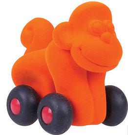 Rubbabu Rubbabu - Large Aniwheelie Monkey (Orange)