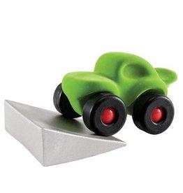 Rubbabu Rubbabu - Monster Car with jumping track (Green)