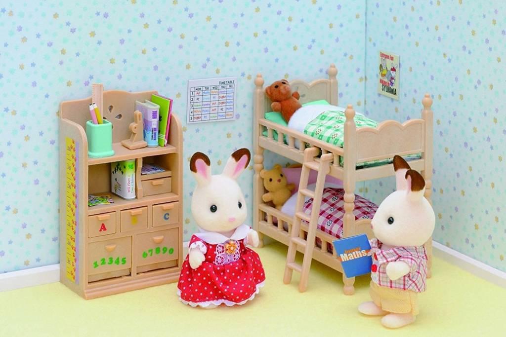 Sylvanian Families Sylvanian Families Kinderslaapkamer meubels ...