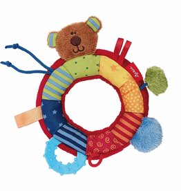 Sigikid Activity grasp toy bear, PlayQ Basic Steps