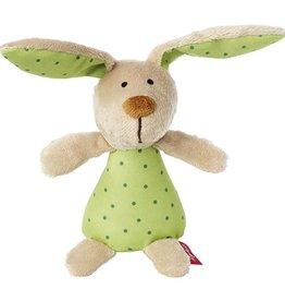 Sigikid Rattle bunny, Red Stars