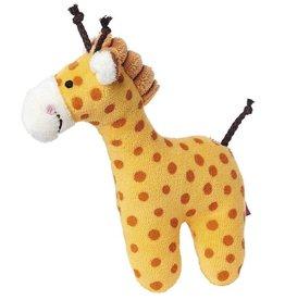 Sigikid Rattle giraffe, Red Stars
