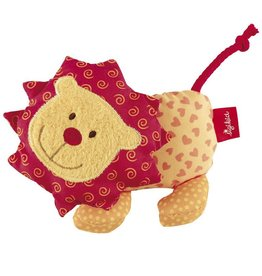 Sigikid Rattle lion, Red Stars