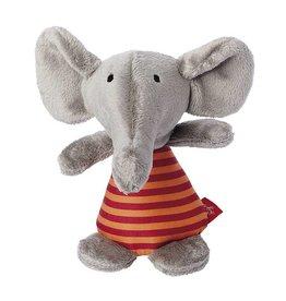 Sigikid Rattle elephant, Red Stars