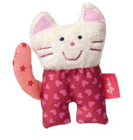 Sigikid Grasp toy cat, Red Stars