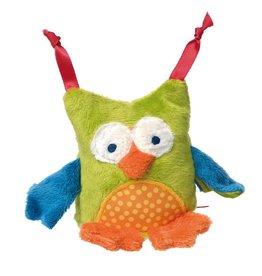 Sigikid Grasp toy owl, Red Stars