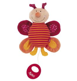 Sigikid Musical butterfly, Red Stars