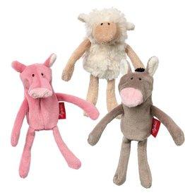 Sigikid Finger puppet set farm