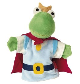 Sigikid Hand puppet frog King Frog