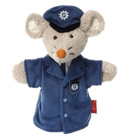 Sigikid Hand puppet mouse policeman