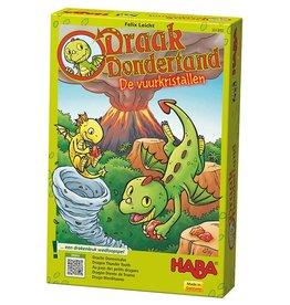 HABA Draak Dondertand - De vuurkristallen 3+