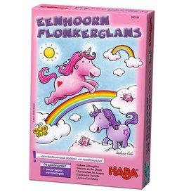 HABA Eenhoorn Flonkerglans - Dobbelspel 3+