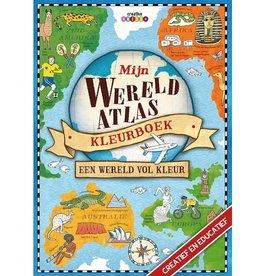 Lantaarn Publishers Mijn wereldatlas kleurboek