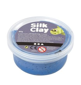 Silk Clay Silk Clay los blauw