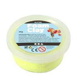 Foam Clay Foam Clay los geel glitter
