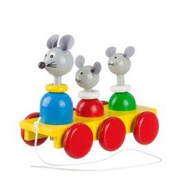 Trekfiguur familie muis