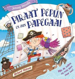 Piraat Pepijn en zijn papegaai