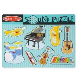 Melissa & Doug Instrumenten geluiden puzzel