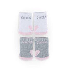 Corolle 2 paar sokken voor babypop 36-42cm