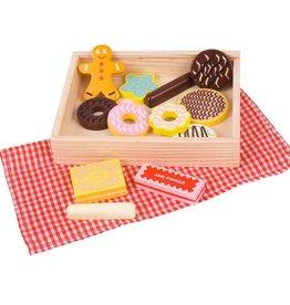 Bigjigs Kistje met koekjes