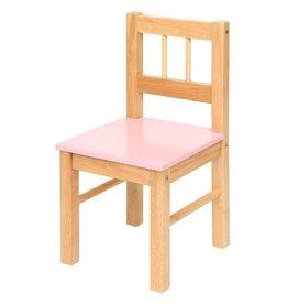 Bigjigs Houten stoel roze