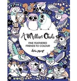 A Million Owls - Kleurboek