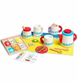 Melissa & Doug Houten thee set