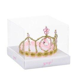 Souza Kroon Josephine, roze/goud