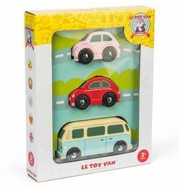 Le Toy Van Retro houten auto's