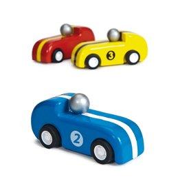 Le Toy Van Pull-back raceauto's