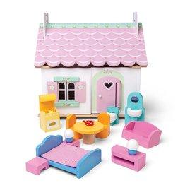 Le Toy Van Poppenhuis Lily's Cottage incl. meubels