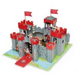 Le Toy Van Camelot Castle Red