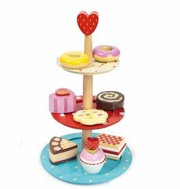Le Toy Van Etagere met cakejes (3-laags)