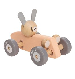 Plan Toys Race auto konijn