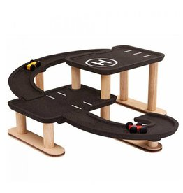Plan Toys Parkeer garage 'Race 'n Play'