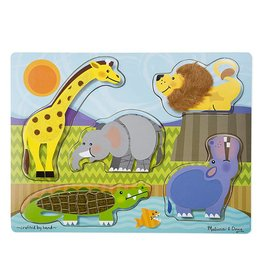 Melissa & Doug Voelpuzzel jungle