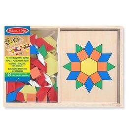 Melissa & Doug Geometrische mozaiek puzzels