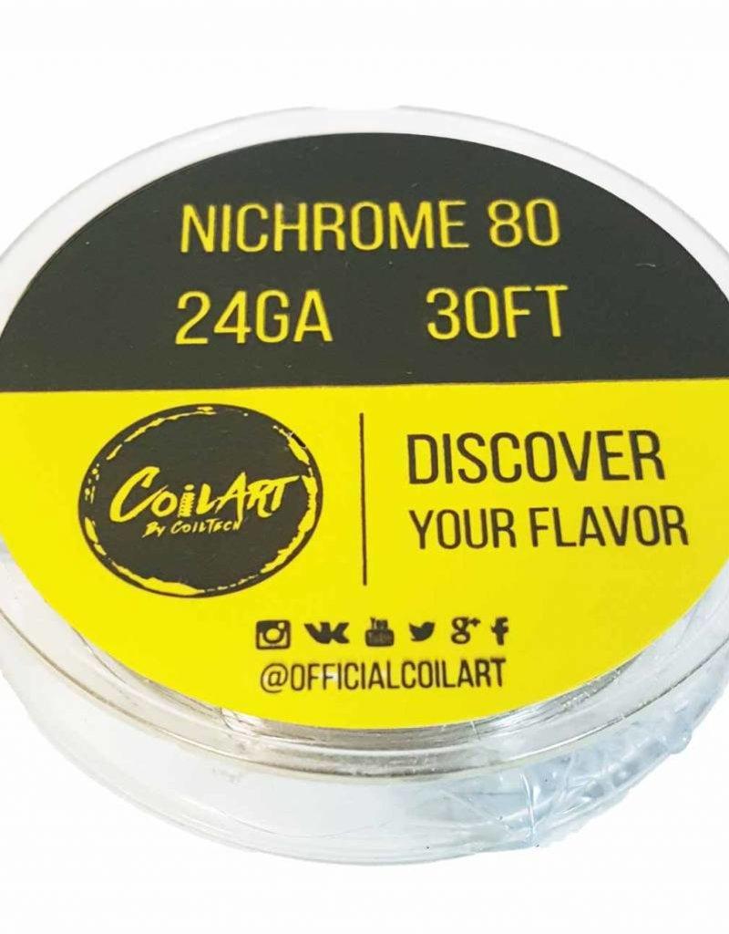 DIY NiChrome 80 24GA Wickeldraht 10Meter von Coilart - Zig7.de