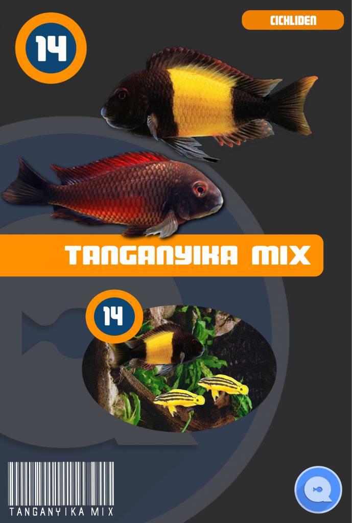 Tanganyika-mix Blister (Diepvries Bevroren Voer)