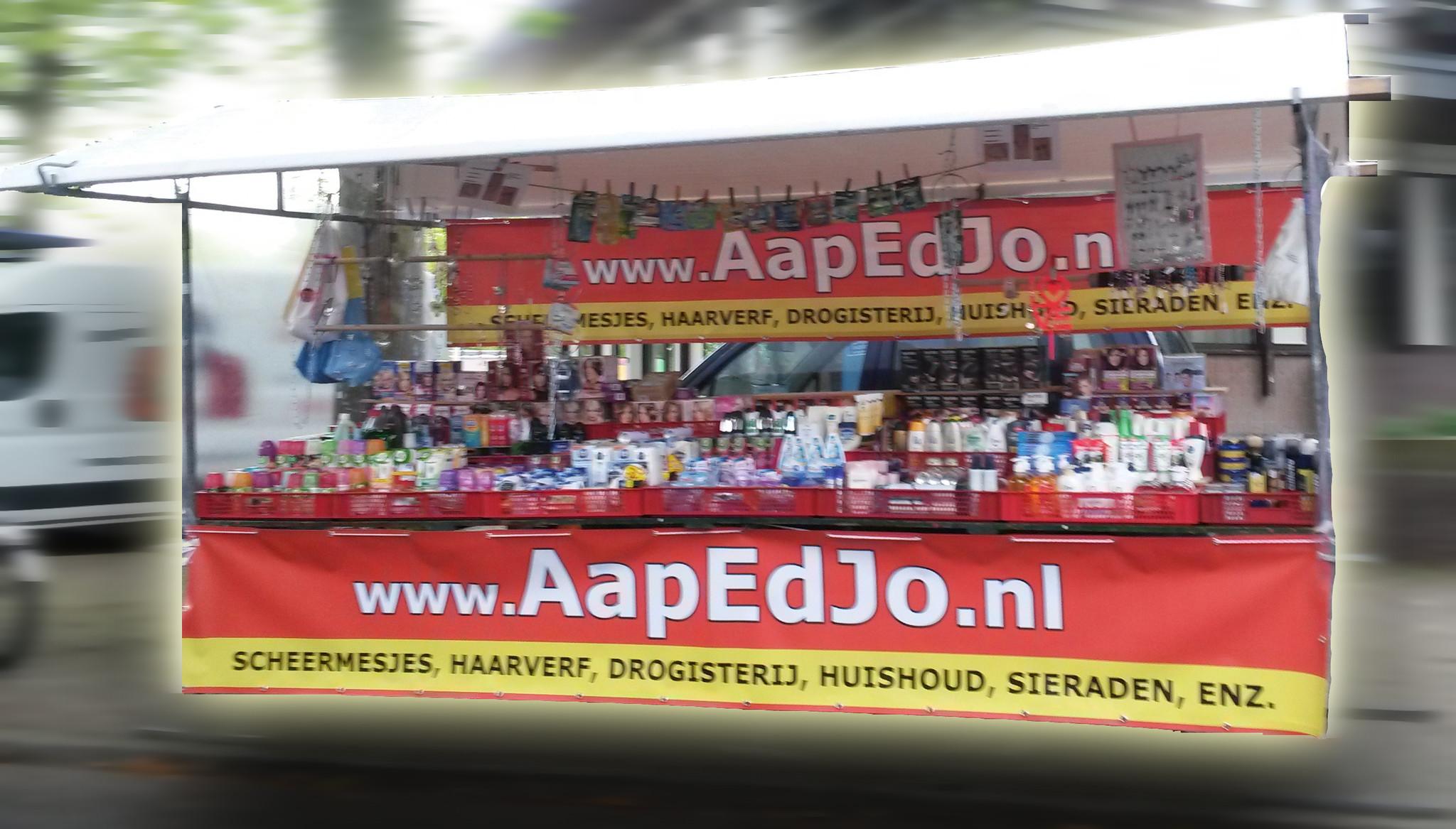 marktkraam AapEdJo.nl