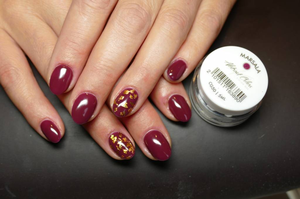 Abstract colorgel 5 ml Marsala CG50 - Polished