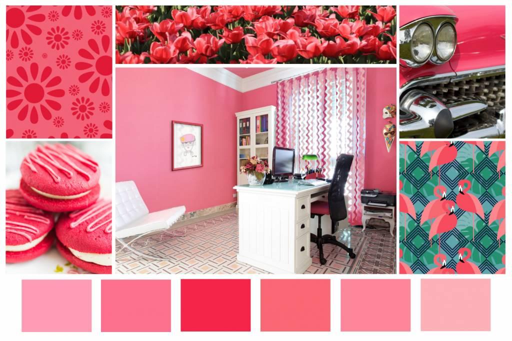 Color Combination Hot Pink Bubblegum