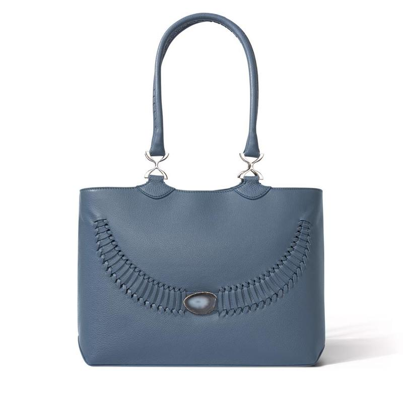 Agate   Blue tones   Polished