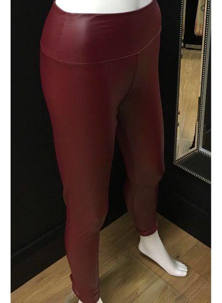 Flash Sheena Shiny Leather Look Leggings