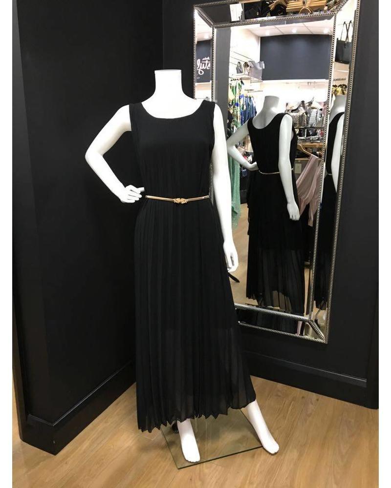 Flash Cleo Pleated Maxi Dress