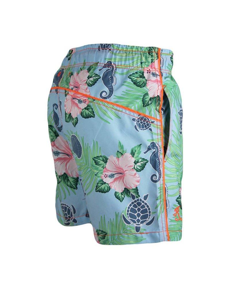 Fiji Badeanzug für Kinder   Celeste