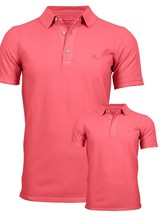 South Beach Polo Kids  Coral Red